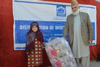 Winter Package Distribution Bagh
