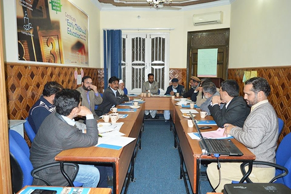 Donor Conference Islamabad Planning session