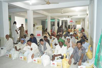 FOOD PACKAGE DISTRIBUTION BHIMBER